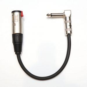 Adaptador P10 Mono para P10 Femea Mono Preto