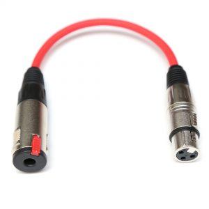 Adaptador XLR Femea para P10 femea ST 01