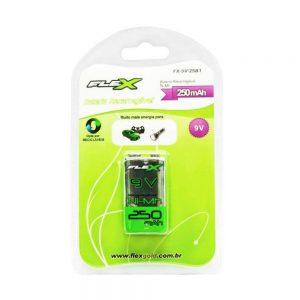 Bateria Recarregavel Flex 9V 2