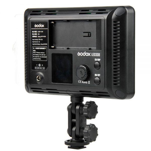 Godox LED de 308 LEDs LED profissional 308o c 3300 K 5600 K com controle remoto