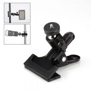 Pergear 168 Sensor de luz interruptor do ar On Camera LED Video Studio Photo Light Metal