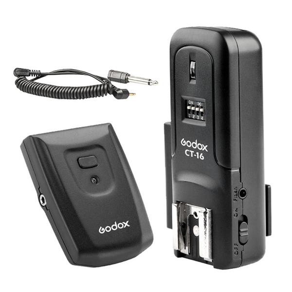 Radio Flash Godox CT 16 Wireless Remote Studio 16 Channels Flash Trigger Transmitter Receiver for Canon Nikon Pentax ESHOP10