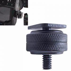adaptador parafuso dual nuts hot shoe c rosca 14 D NQ NP 429711 MLB20640947007 032016 F