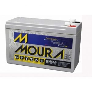 bateria moura 12v 9ah vrla nobreak