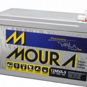 bateria selada vrla para alarmes nobreaks 12v 9ah20h moura D NQ NP 797511 MLB20594336808 022016 F