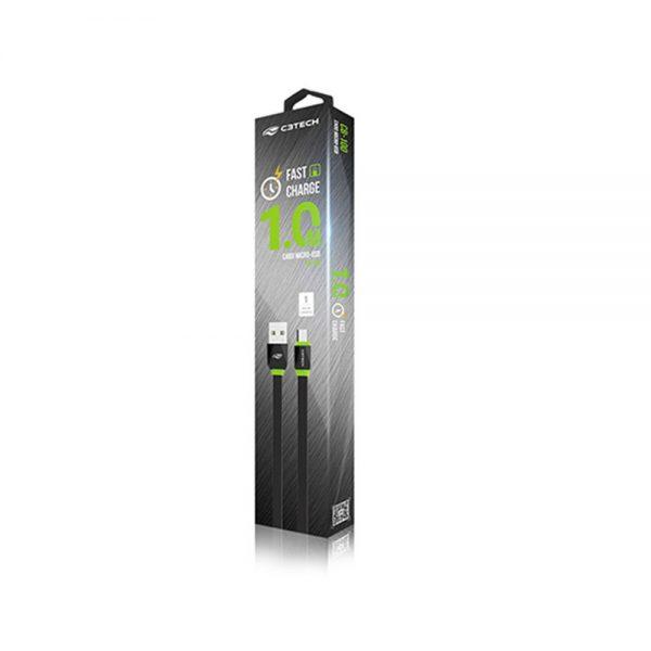 cabo eshop10 micro usb 2 0a c3tech cb 100bk 1m 2