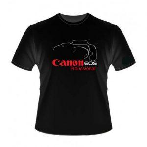 Camiseta Canon Mark III Preta 100% Algodão