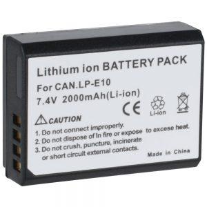 eshop10 bateria canon lp e10