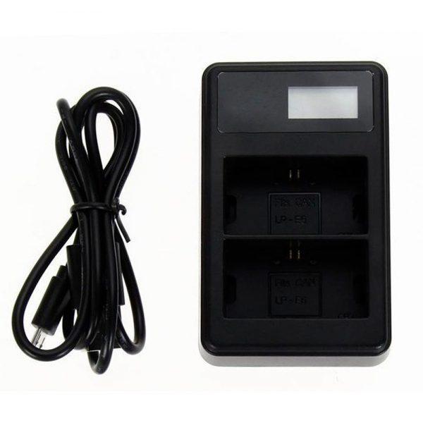 eshop10 carregador lp e6 best battery 4