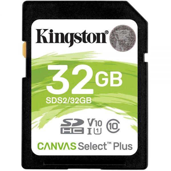 Cartão de Memória SD Kingston Canvas Select Plus 32GB