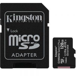Cartão de Memória Micro SD Kingston Canvas Select Plus 128GB