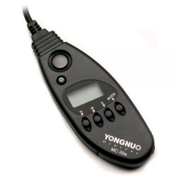 Controle Remoto Disparador Yongnuo MC-20 C3 Canon