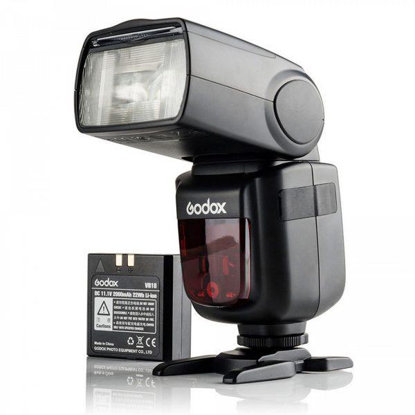 Flash Speedlite Godox V860II Para Câmera Canon