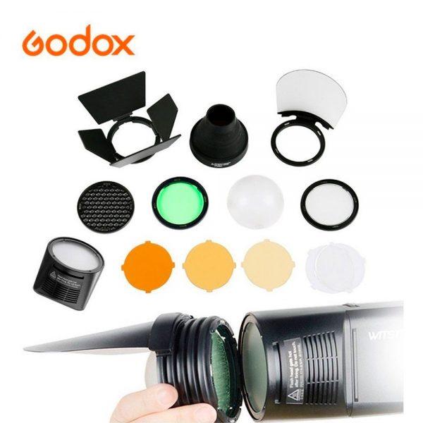 Kit de Acessórios Godox AK-R1 para V1 e AD200 H200R