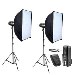 Kit Estúdio Fotográfico Profissional 500w Greika EG-250B CT-16