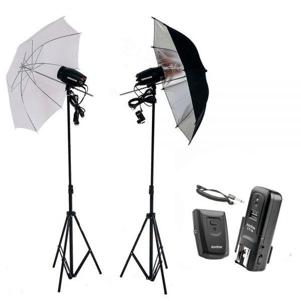 Kit Estúdio Fotográfico Profissional 300w Godox K150 CT-16