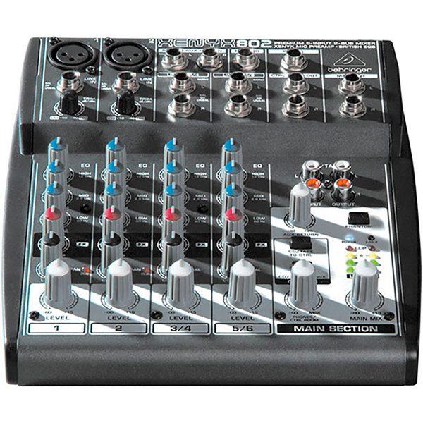 eshop10 mesa de som xenyx 802 behringer 1