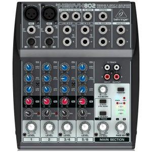 eshop10 mesa de som xenyx 802 behringer 5