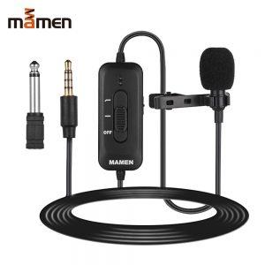 eshop10 microfone de lapela mamen km d2