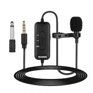 eshop10 microfone de lapela mamen km d2 6
