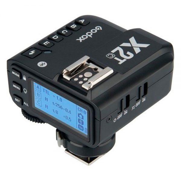 eshop10 transmissor godox x2t sem fio ttl de 24 ghz para canon 6