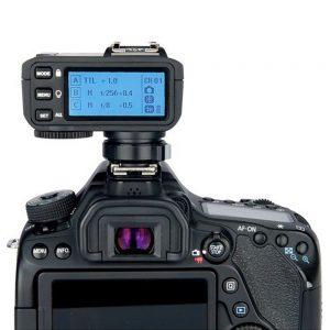 eshop10 transmissor godox x2t sem fio ttl de 24 ghz para canon 7