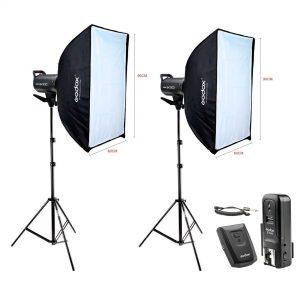 Kit Estúdio Fotográfico Profissional 600w Godox Sk300II CT-16