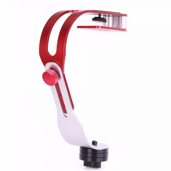 handheld estabilizador suporte do suporte da camera gimbal para nikon canon sony gopro camera esporte dv liga de aluminio handheld acao estabilizador grip 3