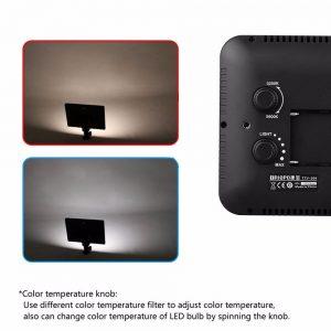 iluminador para foto e video led ttv204 ESHOP10