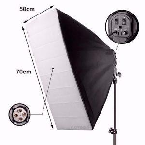kit iluminaco continua estudio 360w softbox tripe ESHOP10 1