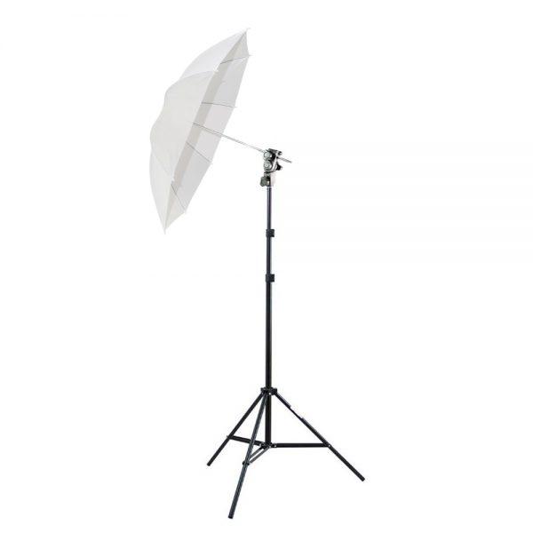 kit suporte c sombrinha para flash dedicado strobist 119301 MLB20311474744 052015 F