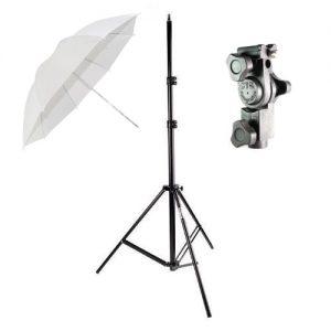 kit suporte c sombrinha para flash dedicado strobist 268301 MLB20311474742 052015 F