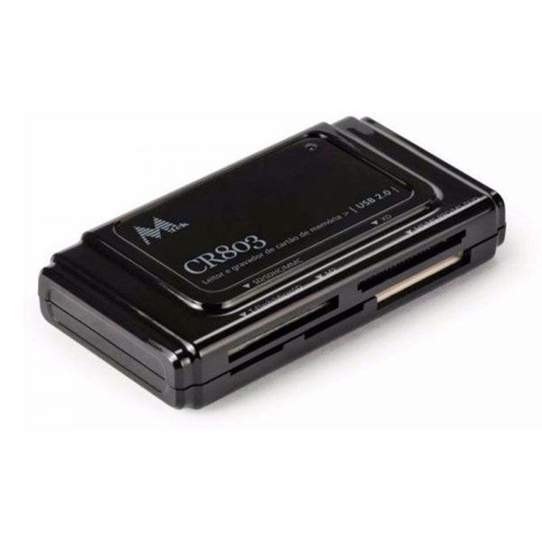 leitor de carto externo mtek cr803 usb 20 e compact flash 1
