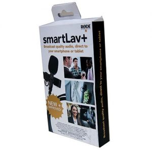 microfone de lapela rode smartlav condensador para smatphone 268411 MLB20573413240 022016 F