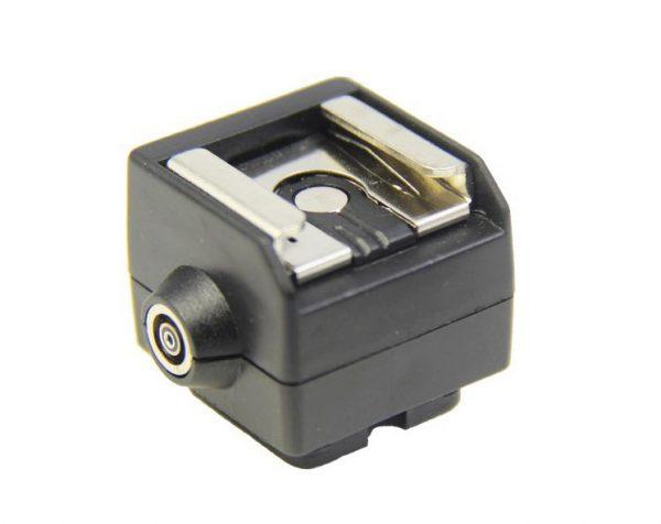 sapata adaptadora hc 2 p flash c saida nikon canon 302201 MLB20277378169 042015 F
