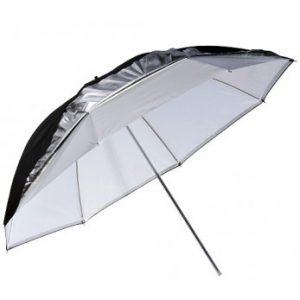 sombrinha refletora branco preto prata greika somb pbs 3