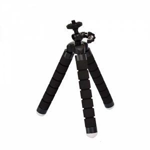 tripe gopower gpr264 para gopro flexivel pequeno preto branco