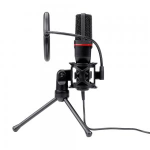eshop10 microfone gamer redragon gm100 3