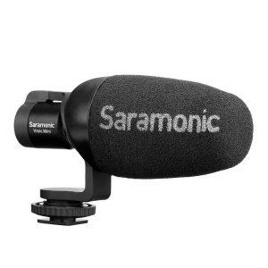 Microfone Condensador para Smartphone e Câmera DSLR Saramonic Vmic-Mini