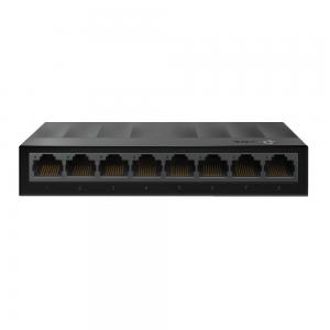 Switch de Mesa TP-Link Lite Wave Gigabit com 8 Portas Ethernet 10/100/1000 Mbps, LS1008G