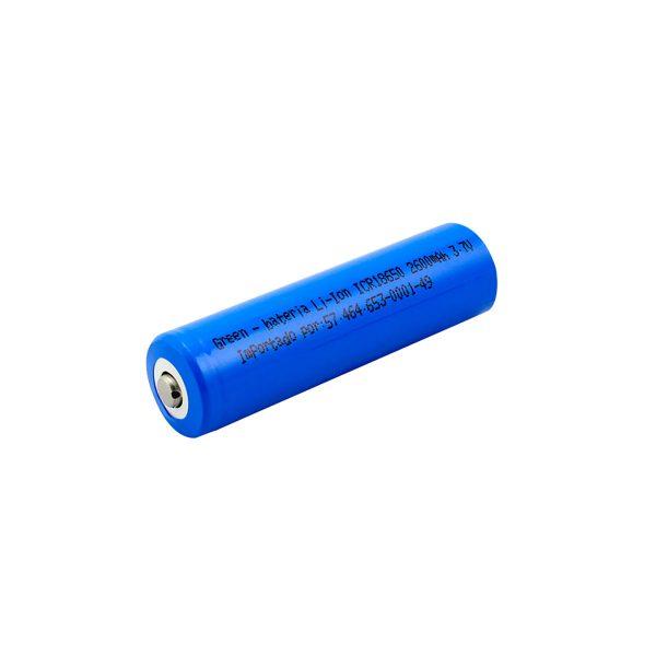 Bateria CR18650 3.7v 2600mah Green