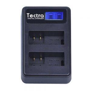 Carregador de Bateria USB Canon LP-E8 Tectra