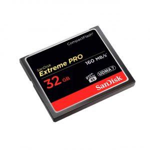 Cartão De Memória CompactFlash Sandisk Extreme Pro 32GB